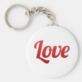 Save the Date Red Love Wedding Key Chains