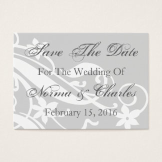 Save The Date Reminder Wedding Day Invitation Card