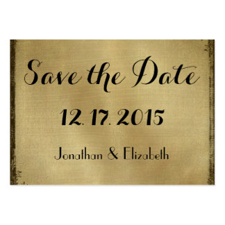 Save the Date Reminders Wedding Invite Insert Large Business Cards (Pack Of 100)