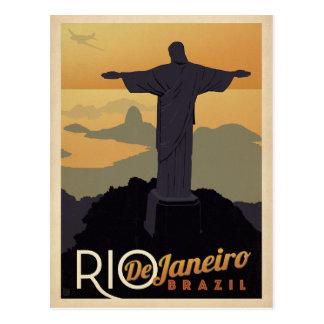 Save the Date   Rio De Janiero, Brazil Postcard