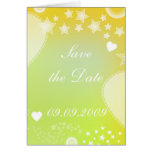 """Save the date"" Romantic Design Cards"