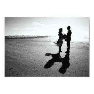 "SAVE THE DATE ROMANTIC WEDDING CARD 3.5"" X 5"" INVITATION CARD"