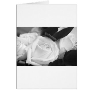 Save the Date Rose Card