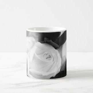Save the Date Rose Coffee Mug