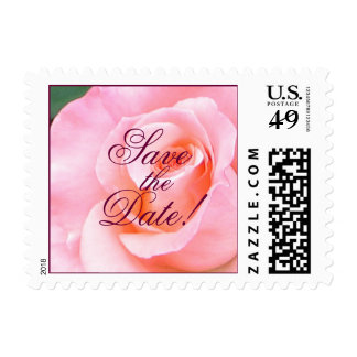 Save the Date Rose Small Stamp