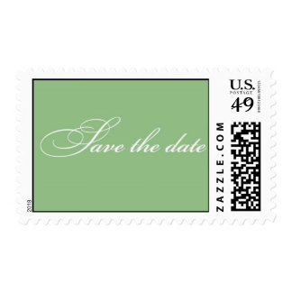 Save the Date - Sage Green Stamps