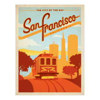 Save the Date | San Francisco, CA  City by the Bay Postcard