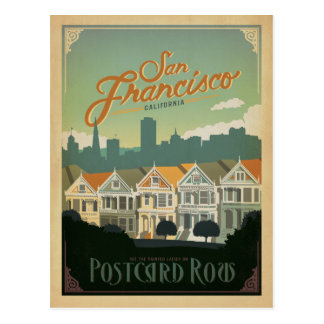 Save the Date | San Francisco, CA - Postcard Row