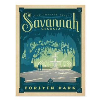 Save the Date | Savannah, GA Postcard