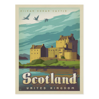 Save the Date - Scotland Postcard