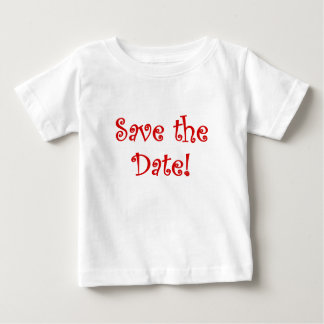 Save the Date Shirt