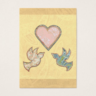 Save the date small cards Faith Hope Love quilt