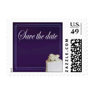 Save the Date Small Size Postage