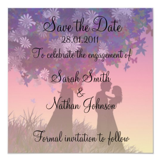 Save the Date Square Card