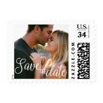 Save the date stamp wedding invitation