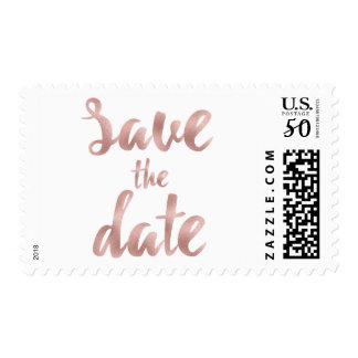 Save the date stamps- medium postage