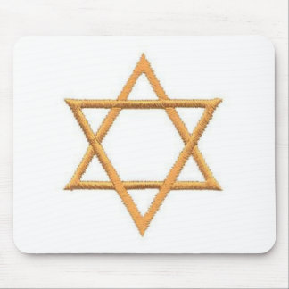 Save the Date/Star of David Gifts Mouse Pad