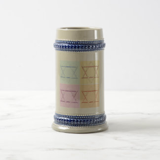 Save the Date/Star of David Mugs