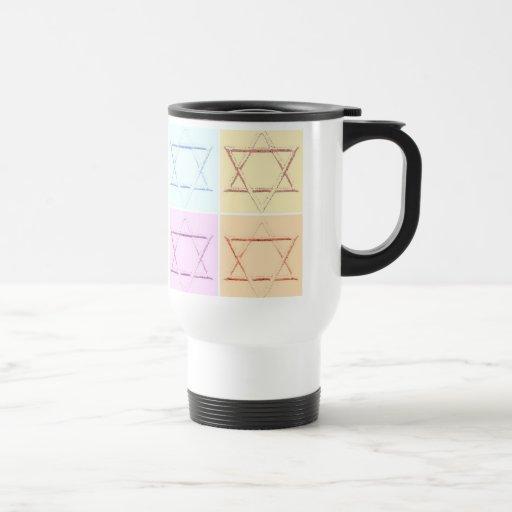Save the Date/Star of David pop art Coffee Mug