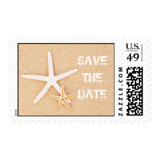 Save the Date Starfish Postage