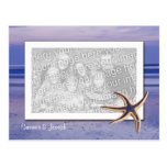 Save the date - Starfish Postcard