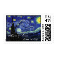 Save the Date,Starry Night Stamps