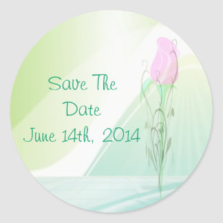 Save The Date Sticker / Seal
