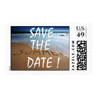 Save The Date Summer Postage