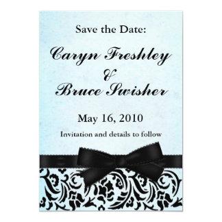 Save the Date ~ {TBA Winner} 5x7 Paper Invitation Card
