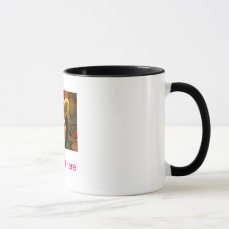 Save The Date Template Text Mug