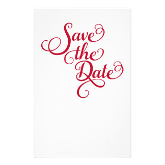 Save the date, text design, word art, invitation stationery