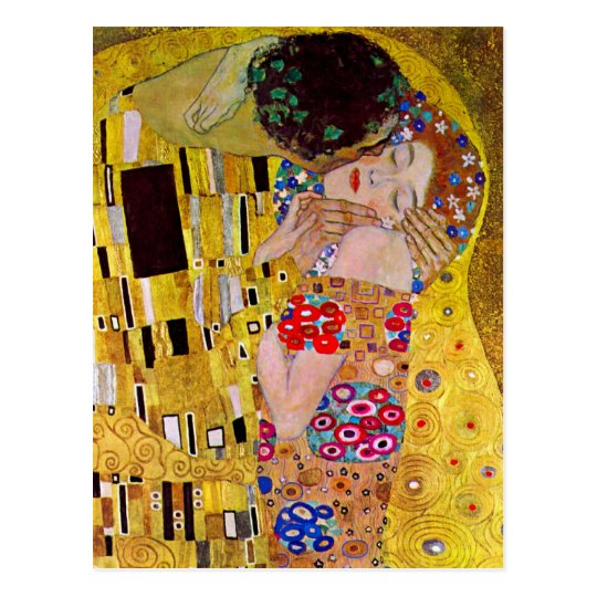 Save the Date! The Kiss by Gustav Klimt Postcard