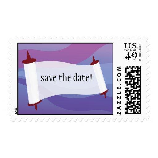 Save The Date Torah Postage