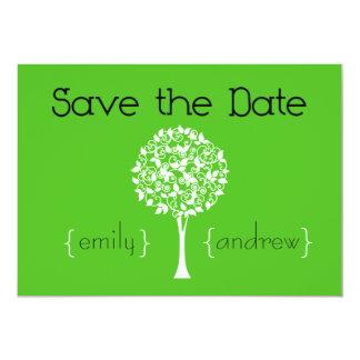 Save the Date Tree Invitation