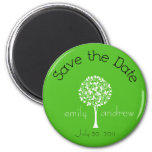Save the Date Tree Magnet