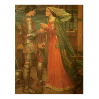 Save the Date! Tristan and Isolde by JW Waterhouse Postcard
