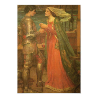 Save the Date! Tristan and Isolde by Waterhouse Card