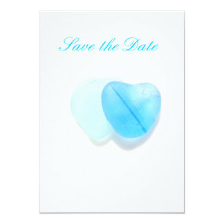 Save the Date - two hearts Card