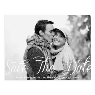 Save The Date USPS Photo Postcard