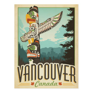Save the Date | Vancouver, Canada Postcard