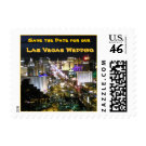 Save the Date Vegas Wedding stamp