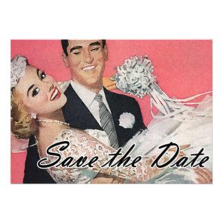 Save the Date Vintage Invites
