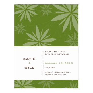 SAVE THE DATE :: vitality fern Post Cards
