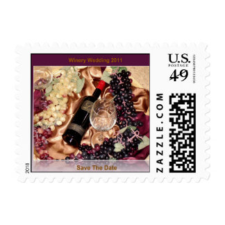 Save the Date Wedding 2011 Postage