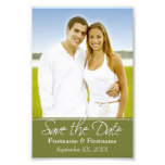 Save the Date - Wedding - 4 x 6 Art Photo
