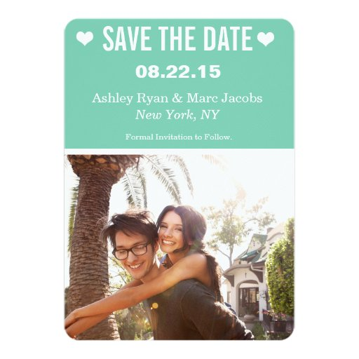 Save the Date | Wedding 5x7 Paper Invitation Card