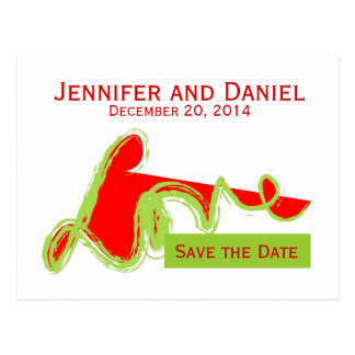 Save the Date Wedding Announcement Card