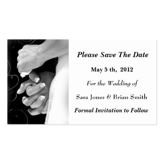 Save The Date Wedding Card Business Cards