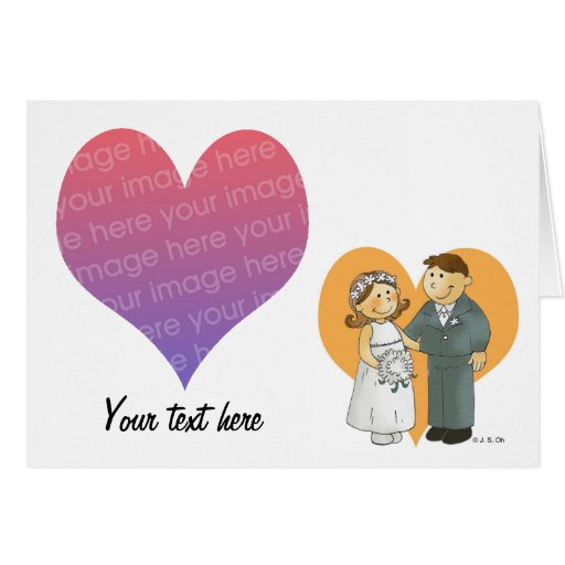 Save the date (wedding day) card