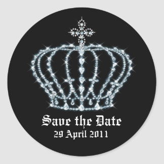 Save the Date Wedding Envelope Seal